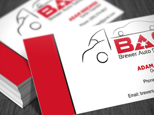 Brewer Auto Salvage Business Card
