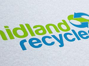 Midland Recyclers Logo