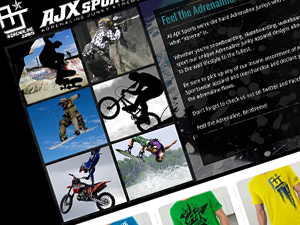 Adrenaline Junky / AJX Sports Website