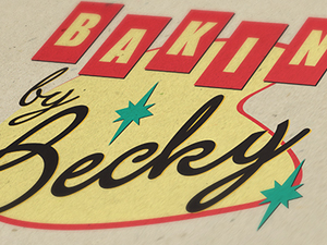 Baking By Becky Logo