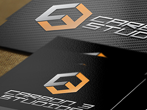 Carbon 3 Studios Business Cards