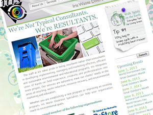 Iris Waste Diversion Specialists Website