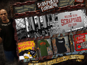 Scrapyard Fightwear Website