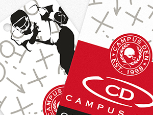 Campus Den Hat Hang Tag