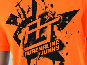 AJX Sports Adrenaline Junky Tees