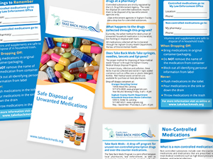 Capital Area Take Back Meds Brochure