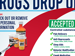 Capital Area Take Back Meds Drop Off Poster