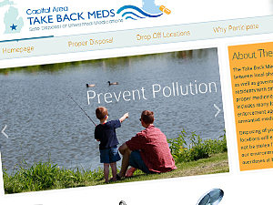 Capital Area Take Back Meds Website