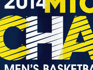 Michigan Basketball 2014 Big Ten Champions Tees