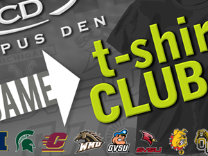 Campus Den T-Shirt Club Card
