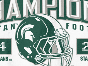 Michigan State 2014 Rose Bowl Champions Tees